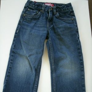 Levi's 549 Boy's Jeans Straight Adjustable Size 5